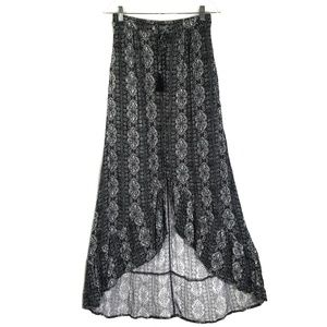 xhilaration high low skirt